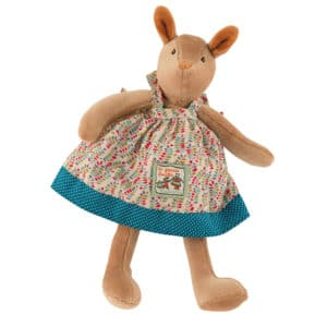 Tiny Blanche deer doll - La Grande Famillie - soft toys, plush toys, baby toys - Moulin Roty toys Australia