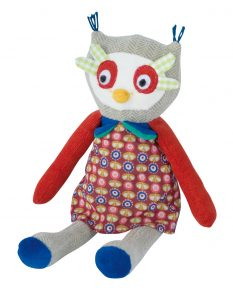 Les Popipop small owl doll