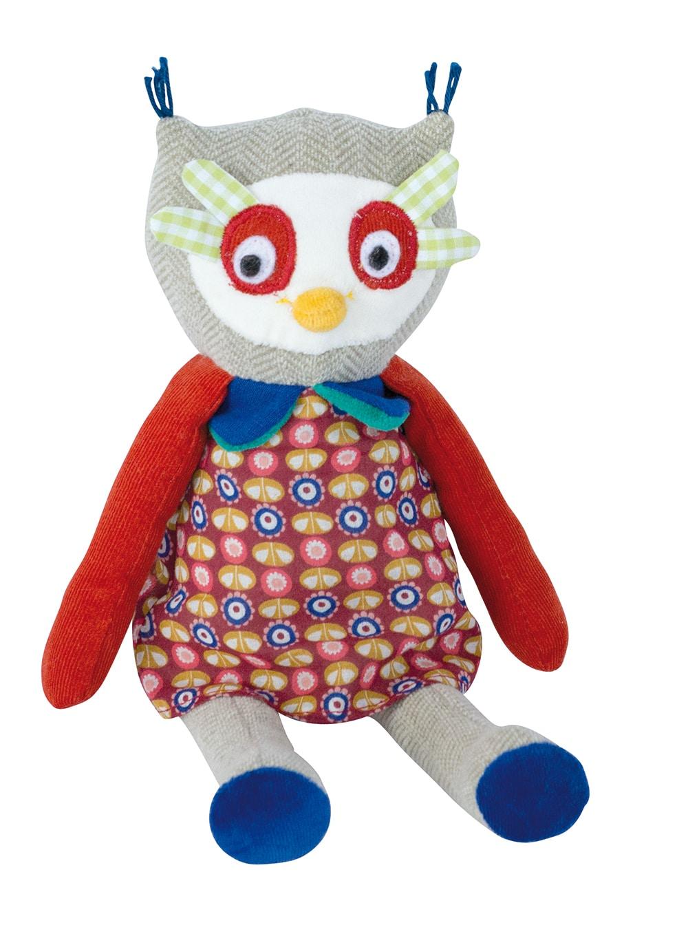 French Knitting Owl Doll : Les popipop owl doll moulin roty little snail