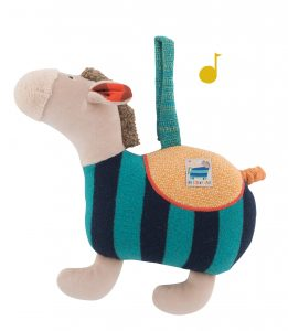 musical toy, soft toys, baby toys, musical horse, zig et zag, moulin roty toys australia