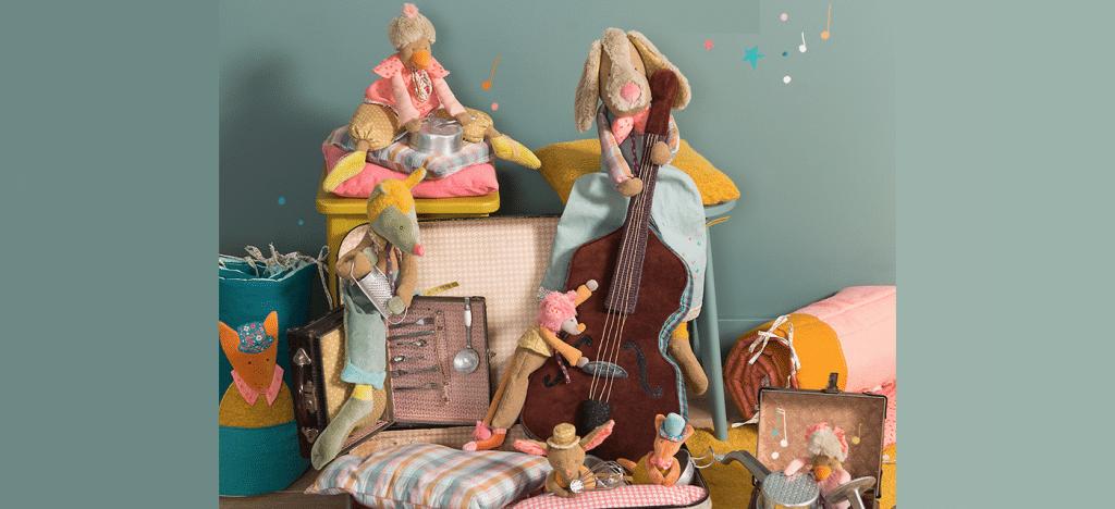 new tartempois toys, Moulin Roty toys Australia, toys, children's toys, baby toys, soft toys, plush toys