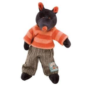 soft toys, stuffed toys, plush toys, Moulin Roty, La Grande Famille, Igor