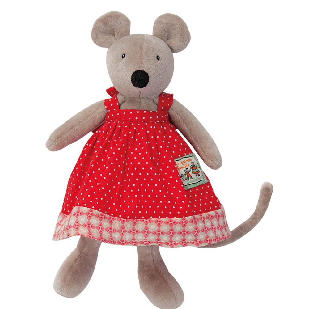tiny Nini - La Grande Famille - soft toys, plush toys, baby toys - Moulin Roty toys Australia