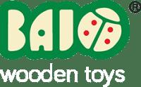 bajo wooden toys logo