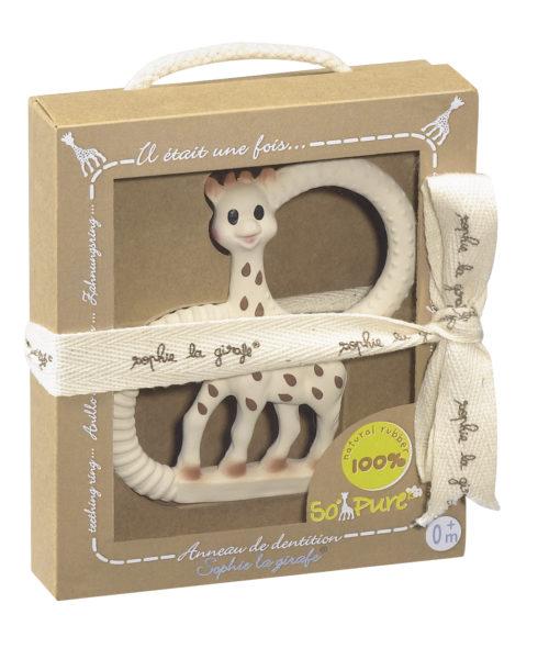 Vulli sophie the giraffe teething ring