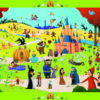 Various fairytales shown in discovery puzzle