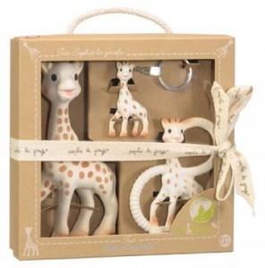 Vulli sophie the giraffe so pure trio
