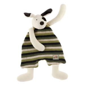 Julius the dog comforter - La Grande Famillie - soft toys, plush toys, baby toys - Moulin Roty toys Australia