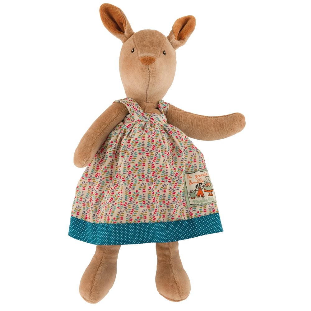 Little Blanche the deer doll - La Grande Famillie - soft toys, plush toys, baby toys - Moulin Roty toys Australia