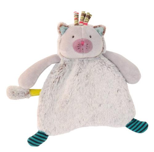 Les Pachats Minoucha cat comforter