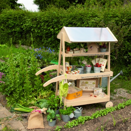 le jardin moulin roty - gardening cart and kids garden toys in garden - discover wonderful nature activities for kids with these fantastic kids garden toys