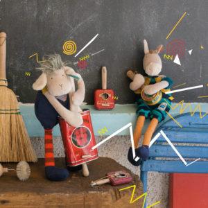 soft toys, baby toys, sensory toys, les zig et zag, Moulin Roty toys Australia