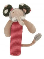 Les Zazous elephant squeaky toy - Moulin Roty