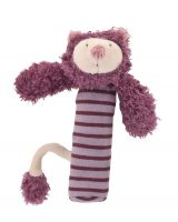 les Zazous cat squeaky toy - Moulin Roty