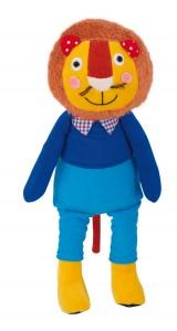 Les Popipop lion doll