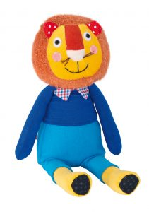 Les Popipop small lion doll