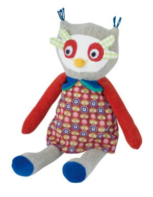 Les Popipop small owl doll