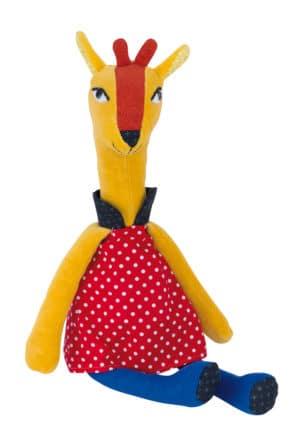 Les Popipop giraffe doll