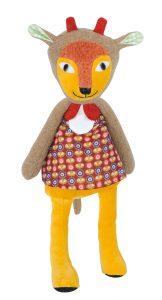 Les Popipop antelope doll
