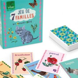 nathalie Lete happy families card game