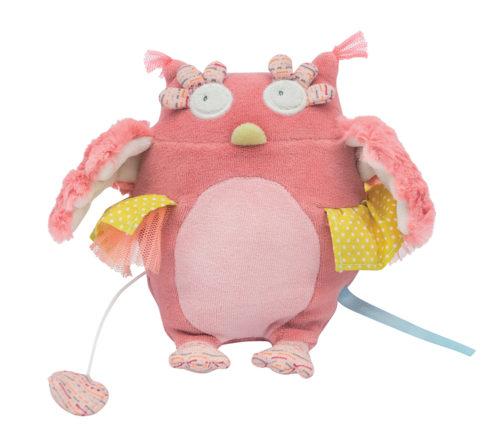 Musical owl doll