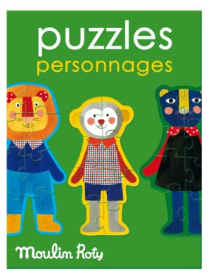 Les Popipop animal puzzles