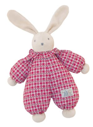 La Douillette flower rabbit doll - Moulin Roty