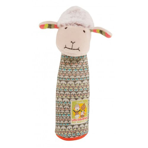 Les Cousins - cow squeaky toy - Moulin Roty