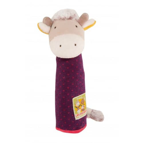 Cow squeaky toy - Les Cousins - Moulin Roty