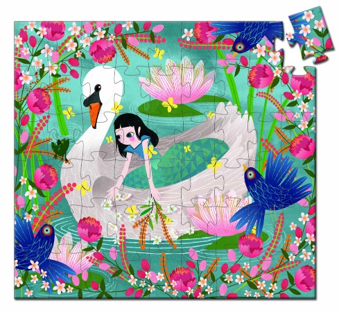 The Lady with the Swan puzzle - Djeco