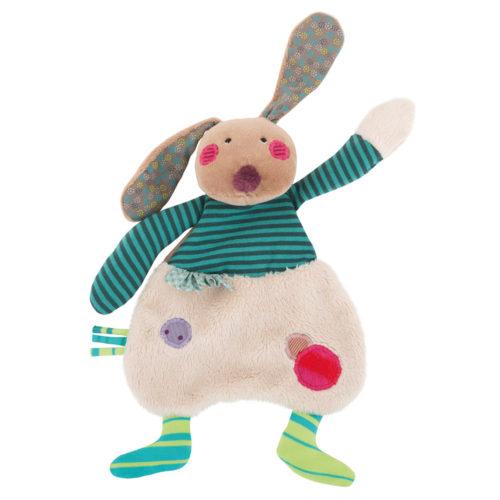 Rabbit comforter - Moulin Roty