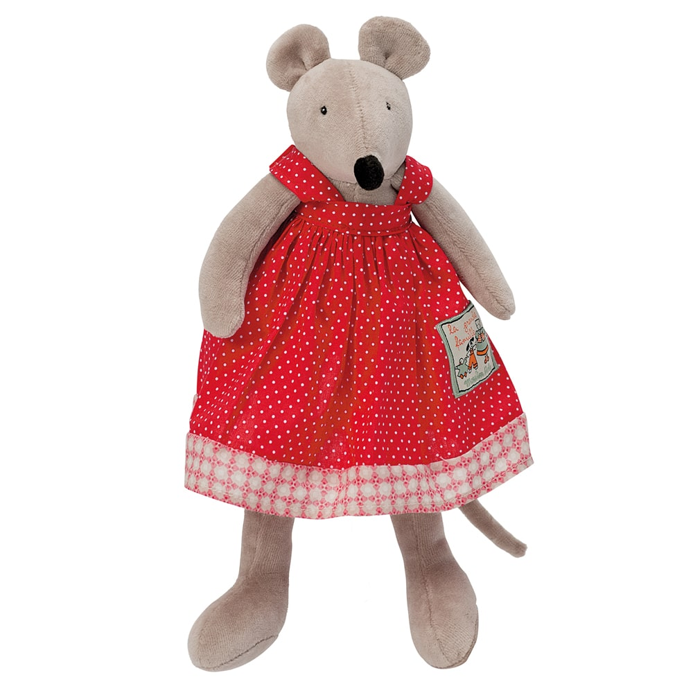 Little Nini the mouse doll - La Grande Famillie - soft toys, plush toys, baby toys - Moulin Roty toys Australia
