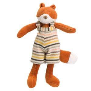 Tiny Gaspard the fox doll - La Grande Famillie - soft toys, plush toys, baby toys - Moulin Roty toys Australia