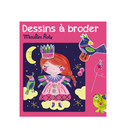 Princess sewing cards - Moulin Roty