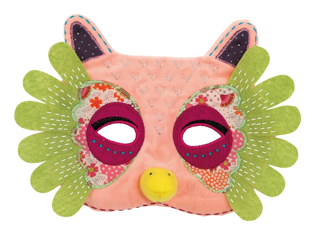 Suzette the owl mask - Moulin Roty