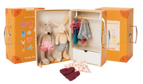 Suitcase Little Wardrobe -Moulin Roty