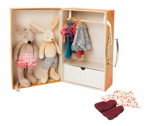 Suitcase Little Wardrobe - Moulin Roty