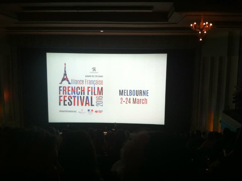 Alliance Francaise French Film Festival 2016 - Welcome screen