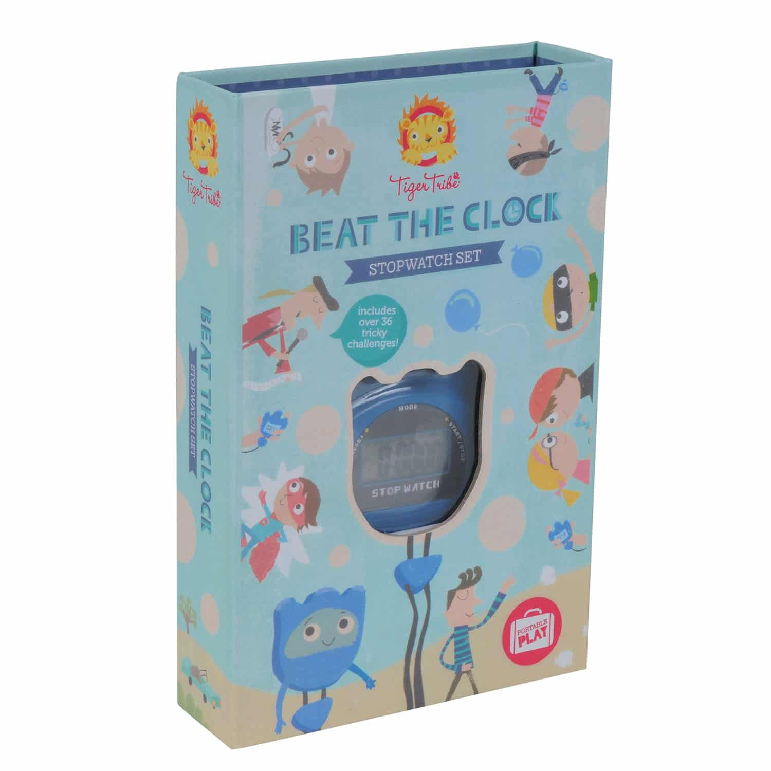 Beat the Clock Stopwatch Set - Tiger Tribe
