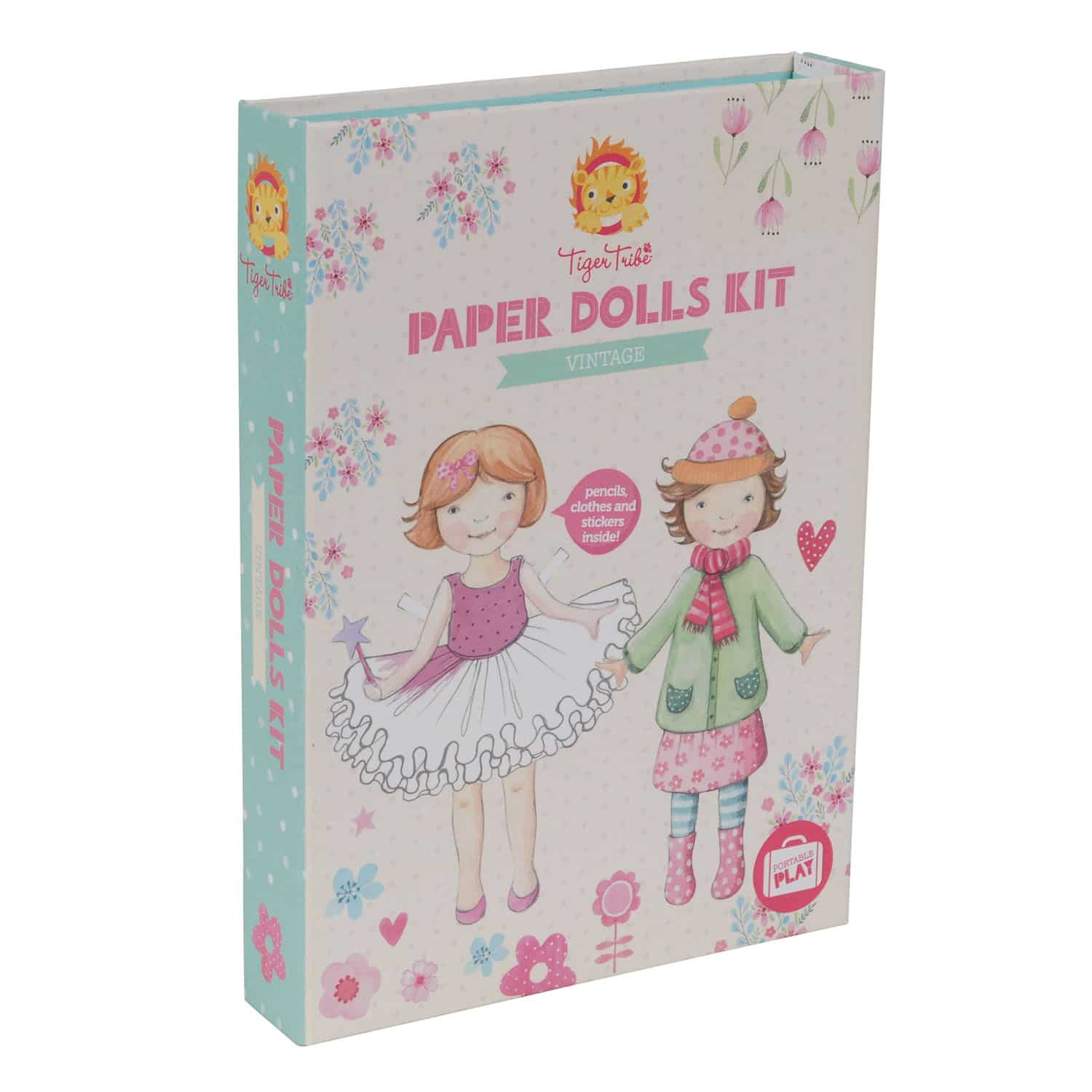 Paper dolls kit - Tiger Tribe