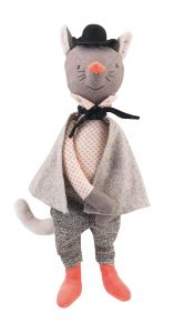 The Gallant Cat - Moulin Roty
