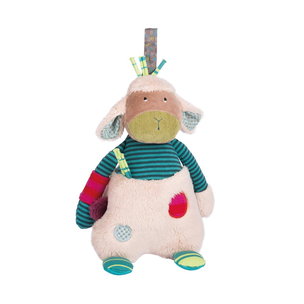 Les Jolis pas Beaux musical sheep - Moulin Roty