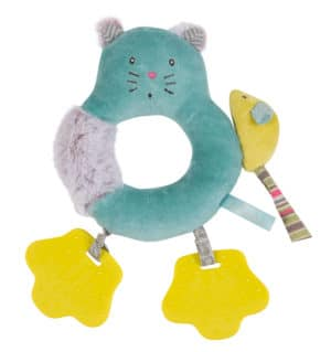 Les Pachats Cat Ring Rattle - Moulin Roty