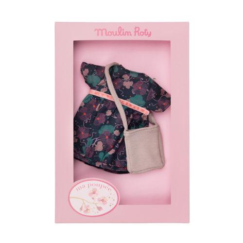Dress set - doll's clothes - Ma poupee - Moulin Roty