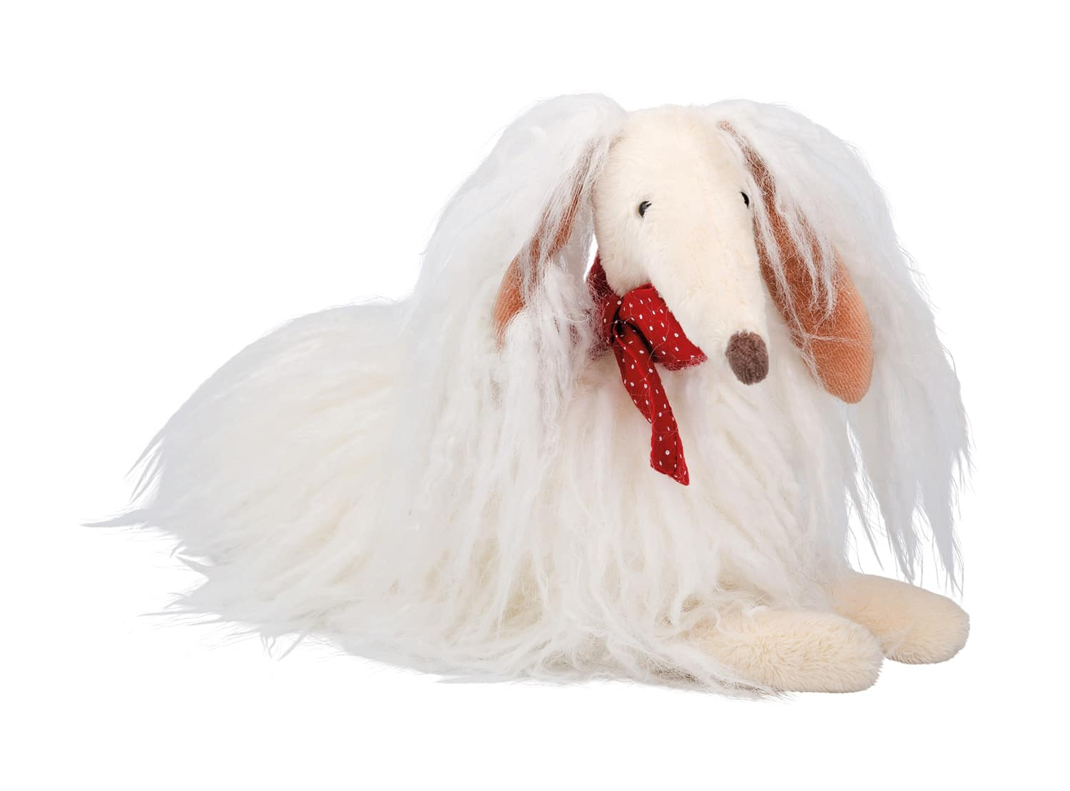 Les Coquettes Scarlette the white dog