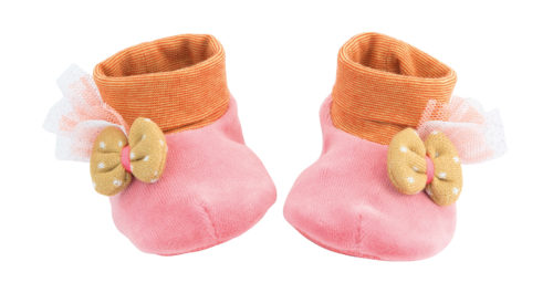 baby slippers, footwear, baby toys, soft toys, toys, Tartempois, Moulin Roty toys Australia