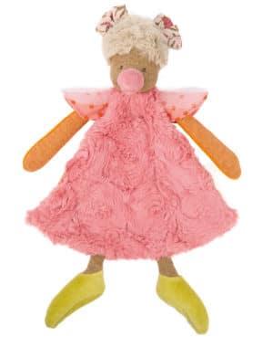 hen comforter, dou dou, children's comforter toy, baby toys, soft toys, toys, Tartempois, Moulin Roty toys Australia