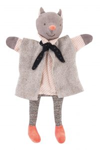 Il etait une fois the gallant cat hand puppet - Moulin Roty