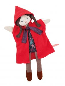 Il etait une fois little red riding hood hand puppet -Moulin Roty