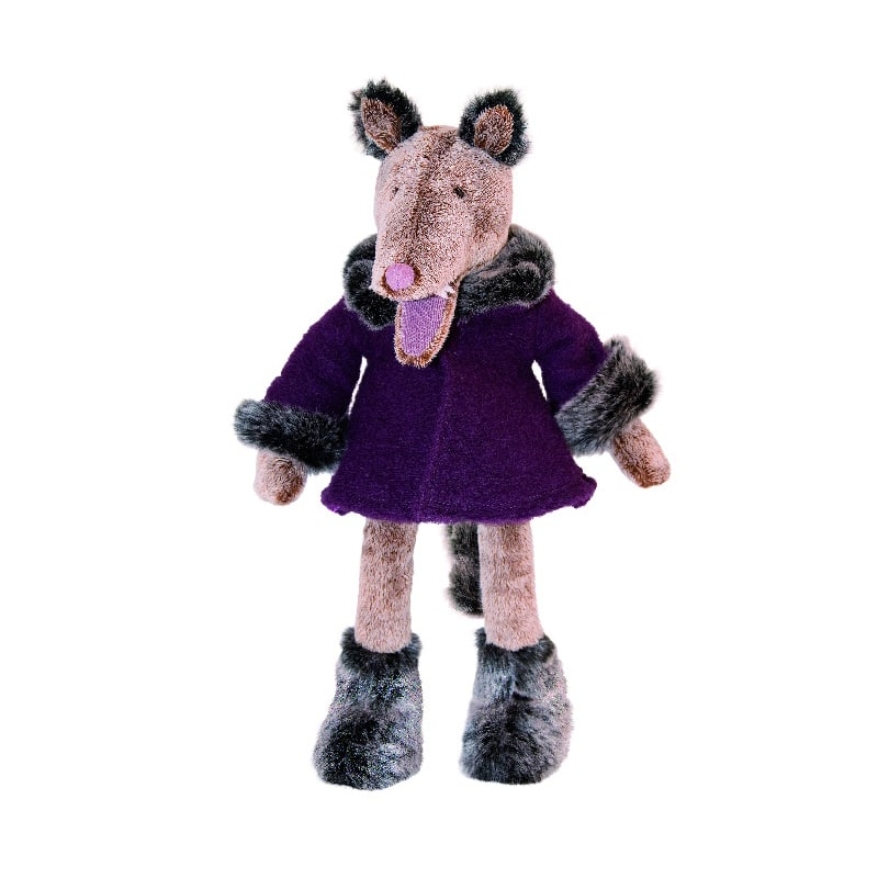 fairy stories and nursery rhymes - charles the wolf - il etait une fois - Moulin Roty toys Australia